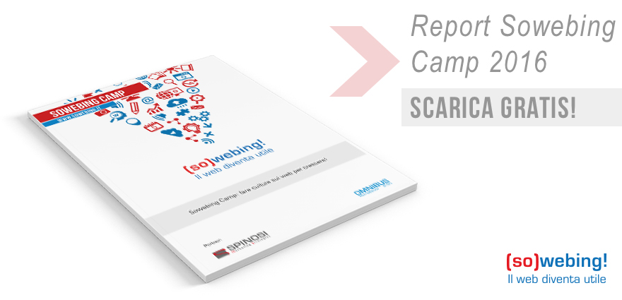 Gratis il Report Sowebing Camp