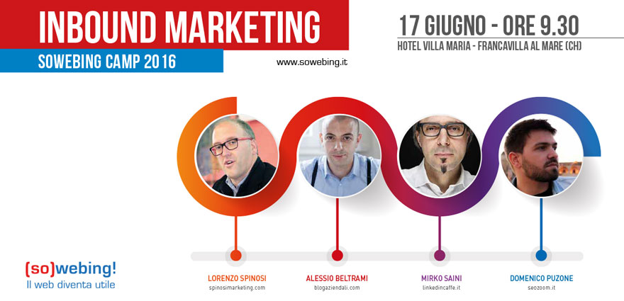 Sowebing Camp 2016 Lorenzo Spinosi Marketing