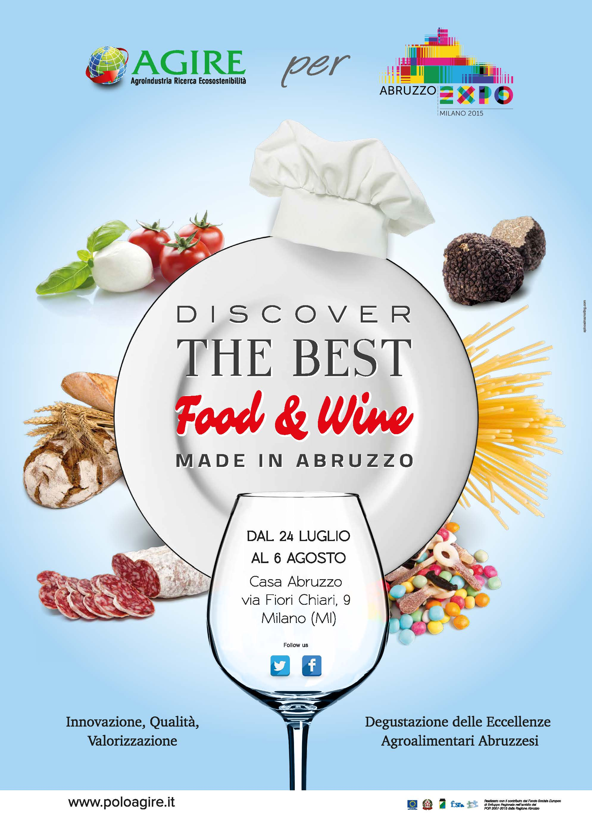 Polo Agire | Abruzzo Expo 2015 | The best food wine Abruzzo